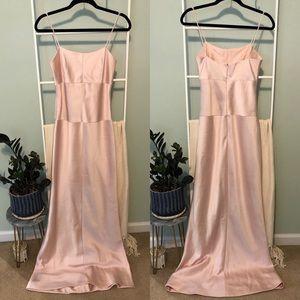 Vera Wang High End Long Pink Formal Dress Flawed